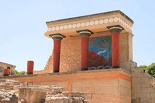 Царский дворец в Кноссе (остров Крит)