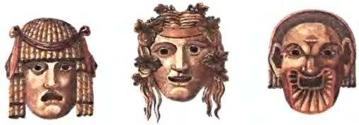 Древнегреческая маска театральная