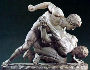 Сексуальные скульптуры и картины древней греции